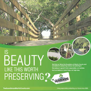 New Guardians of Martin County Ad:  Beauty Worth Preserving