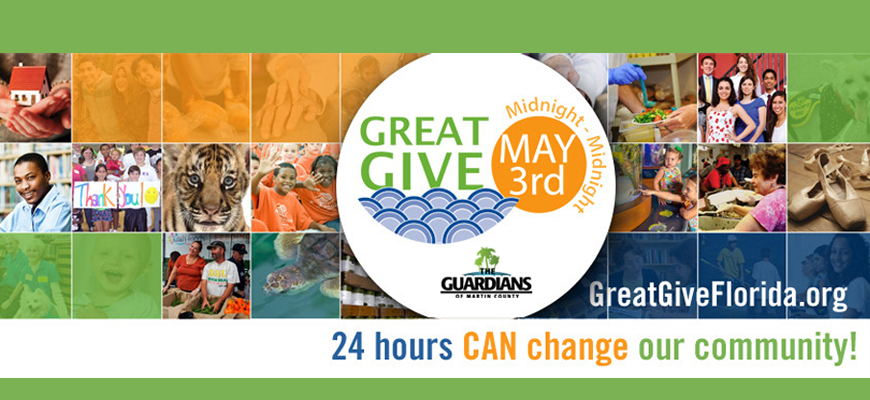Make Giving Great on May 3rd.