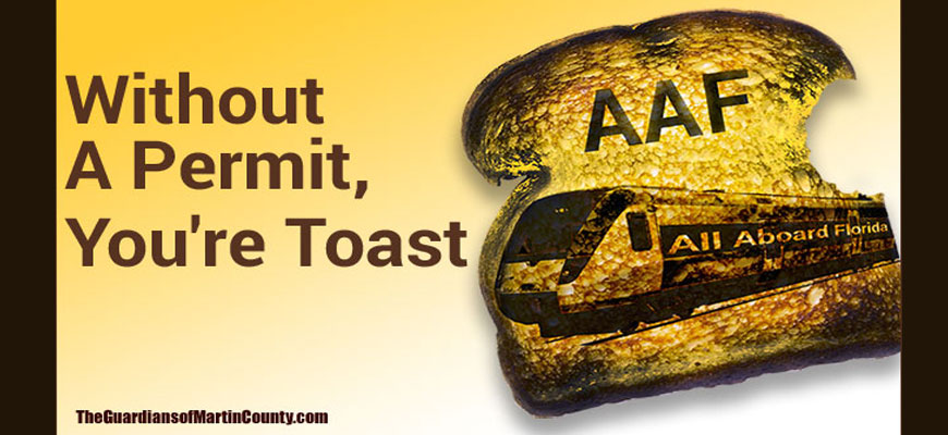 Without A Permit, You're Toast!