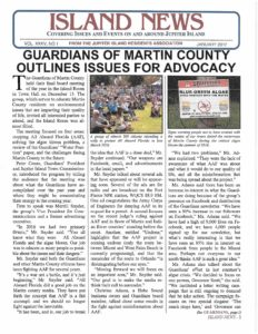 "Guardians' Programs featured in ""The Island News"""