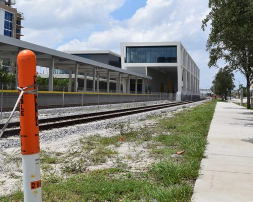 Brightline Train Station
