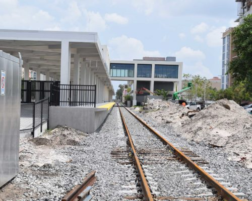 Brightline Station West Palm Beach June 2017